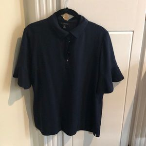 Banana Republic short sleeve M navy top